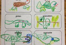 kindergarten reptiles / by Dorothy Digiovannantonio