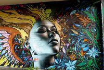 Stunning Street Art / Street art from around the corner in Austin, Texas and around the world.
