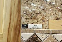 countertops  and wall tiles
