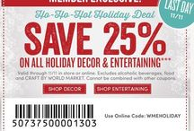 Holiday Shopping / Getting great online deals on #HolidayShopping #CashBack