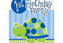 Landon's First Birthday Ideas