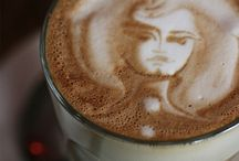 Latte art / What can we say...  We love coffee.  We love art.  We love art on top of a fabulous cup of coffee.  Don't you?