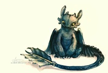 Dragons / This category is dedicated to my pet baby fire Dragon, Calcifer.  Here you will see beautiful Dragon art, pictures, jewellery, figurines and generally all things Dragon!