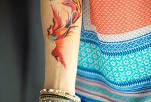 Τατουάζ Με Πουλιά Φοίνικες