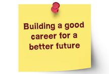 Building a good career for a better future / As far as networking is concerned it is to be kept in mind that there are a large number of people who can help a job seeker get the right kind of job.