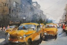 nitin singh watercolor