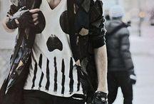 dennys punk style