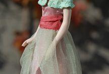 Ginny / 1:12 porcelain doll by Taru Astikainen