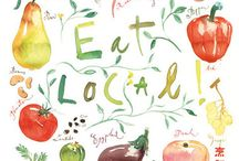 Illustration - foods / by Louisa Higgins