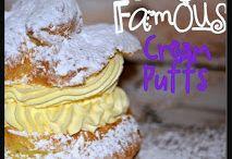 cream or custard puffs