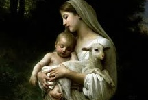 """MOTHER MARY/  Religious Paintings / This board is my treasure house of pictures of Mother Mary, Saints and  """"Christ """" !!!!!!"""