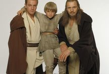 May the Force be With You /  The characters, actors and any trivia about the three prequel movies : I, II, III, & about VII.