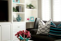 Home decor- family room / by Katie Salter