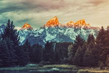 paysage montagne / by Christelle Chailler
