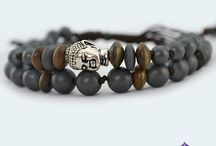 Buddha Sacred Bracelets / Our Buddha Sacred Heart and Sacred Root Bracelets are created with Gemstones and Crystals to balance and align the Heart and Root Chakras. This design features a pull cord closure that easily adjusts to your desired fit.