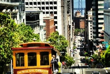San Francisco street and cable cars / San Francisco cable cars always fascinate me and so i always shoot them.