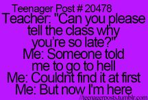 Teenager posts! Haha / by Raymi Braden