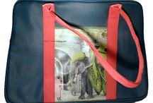BAG / NOUVEAUX VINTAGE BAGS    40 X 28 X15 cm