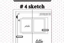 Traveler notebook sketches