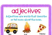 Kindergarten Literacy - Nouns, verbs, adjectives
