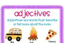 Adjectives / by Robin Mintzes