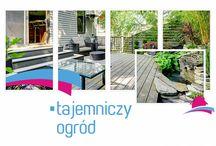 Tajemniczy ogród / Wystarczy użyć wyobraźni by stworzyć wspaniały zakątek, w którym będziemy mogli cieszyć się słonecznymi dniami w naszym ogrodzie, na tarasie lub  balkonie. #ogród #aranżacja #taras #balkon
