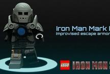 LEGO Iron man - zbroje