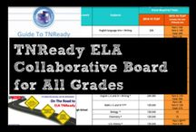 TNReady Collaborative Board for ELA All Grades / In light of TN DOE's decision to move all TNReady testing to paper, teachers need one another as collaborative partners and supporters more than ever before. >> This board is a repository of best practices and ideas for all TN ELA teachers. >> PINS OF LESSONS, BEST PRACTICES, TN RESOURCES, & MORE! >> Become a Collaborator by emailing me @ maratruslow@gmail.com