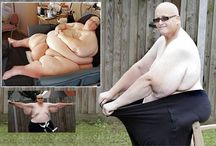 Transformation photos of the fattest man in the world  / Transformation photos of the fattest man in the world