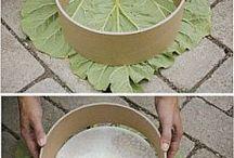 foglie cemento