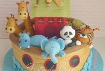 animal arc cakes