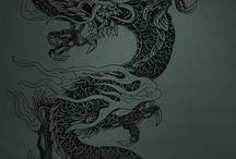 Dragon Tattoo / by Paige Bebeau