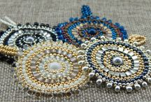 Seed bead pendants