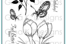 Spring a Stamp Sets available at Gina K. Designs