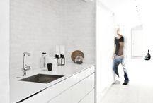 Kitchen / Scandinavian clean minimalistic kitchens.