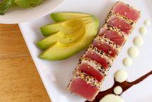 Sushi sashimi tuna