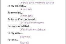 inglés/francés