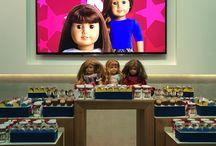 Festa Infantil / Festa infantil na #animasom do #shoppingleblon #festademenina #americangirl #cookiesinajar #cookies #decoração