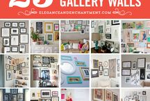 Wall Space / Wall decor and ideas