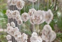 cortinas flores