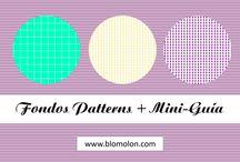 Fondos Patterns / Colección de fondos