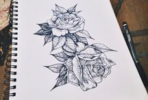 tatoo rose