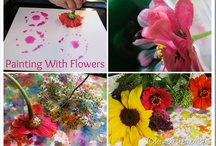 Flowers - Books, crafts / by MeMeTales Inc