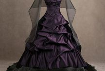 Gothic dress for wedding
