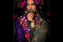 fashion by Folkloriko /  hand embroidered fashion by Linda Weberova
