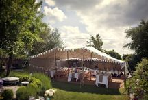 Marquee Wedding Decorating Ideas / Lots of great looks for wedding marquee interiors!