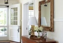 Beautiful Entry Ways / home decor