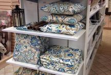 Outdoor Collection / Our outdoor collection with fabrics and pillows that work inside and outside of your home.
