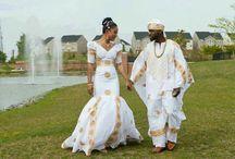Afrizar African Wedding gowns & Attires