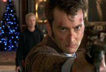 I'm the Doctor. Basically run.
